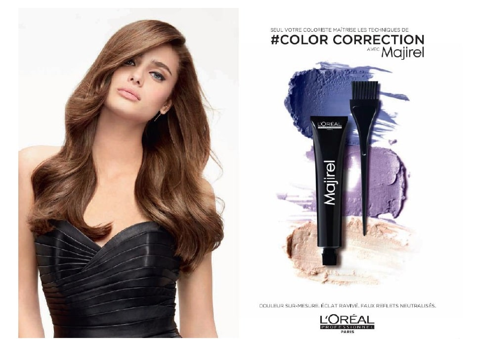 #Colorcorrection L'Oréal Professionnel